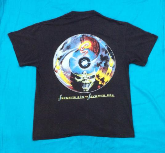 VTG 80s IRON MAIDEN Can I Play With Madness T Shirt