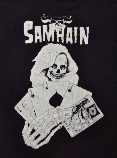 Vintage 80s Samhain T Shirt Sz L