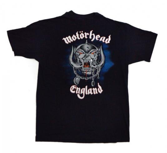 Vintage 80s Motörhead England Born To Lose T Shirt Sz L