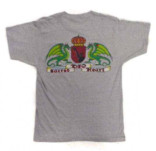 Vintage 80s Dio Sacred Heart Metal T Shirt Sz M