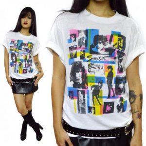 Vintage 80s Siouxsie Sioux Goth T Shirt Sz L