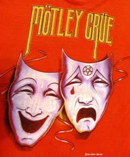 Vintage 80s MOTLEY CRUE Theater of Pain World Tour T Shirt