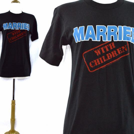 Vintage 80s Married With Children Promotional T Shirt