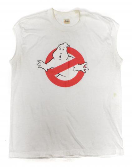 Vintage 80s Ghosbusters Promotional Sleeveless T Shirt Sz L