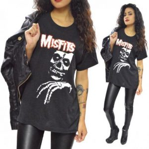 Vintage 80s The Misfits Legacy of Brutality T Shirt Sz L