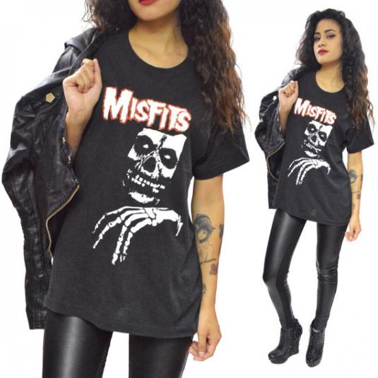 Vintage 80s The Misfits Legacy of Brutality T Shirt Sz L