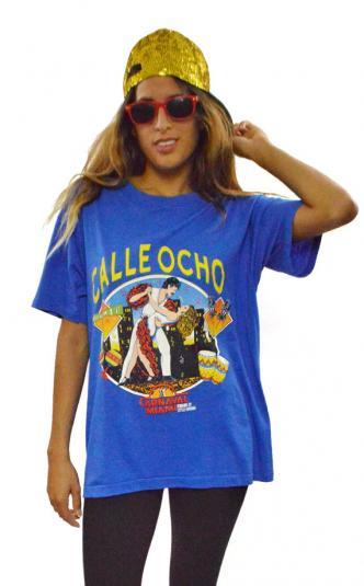 Vintage 80s Calle Ocho Carnival Little Havana T Shirt