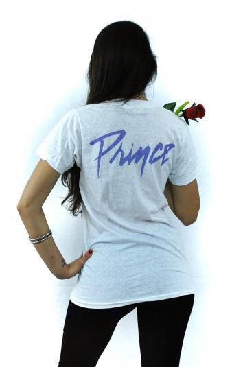 Vintage 80s PRINCE 1984 Purple Rain Sexy T Shirt Sz M