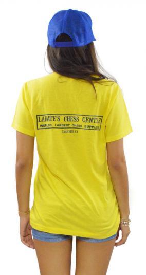 Vintage 80s 1987 U.S. Open Chess Tournament T Shirt Sz L