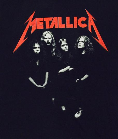 Vintage 80s Metallica …And Justice For All T Shirt Sz L