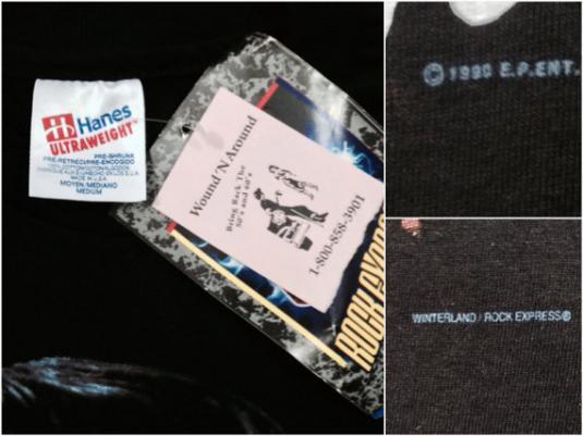 Vintage 90s ELVIS PRESLEY The King NWT T Shirt Sz M