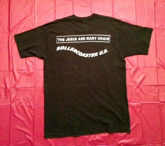 VTG 90s The Jesus And Mary Chain U.S. Rollercoaster T Shirt