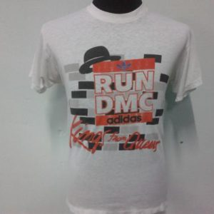 Vintage Run DMC Adidas Kings From Queens