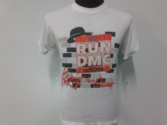 Vintage Run DMC Adidas Kings From Queens