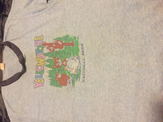 """YellowStone"" National Park Original T-Shirt"