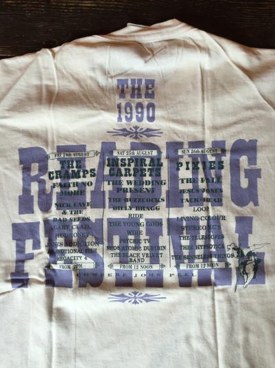 Reading festival original 1990 thsirt