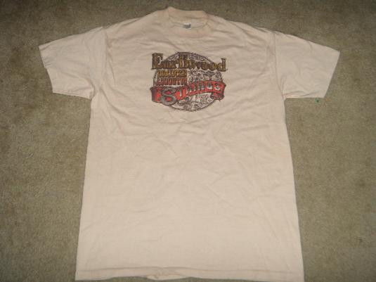 Guitar string shirt 80s