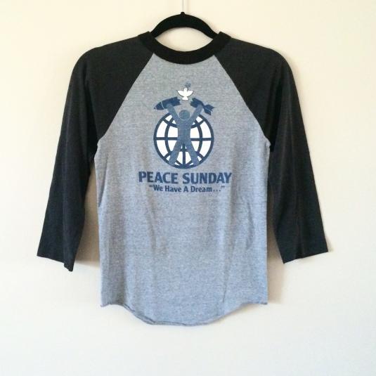 Peace Sunday Raglan