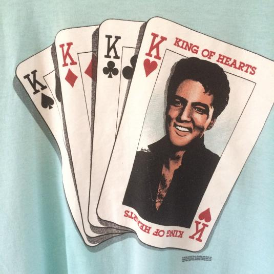Elvis King of Hearts