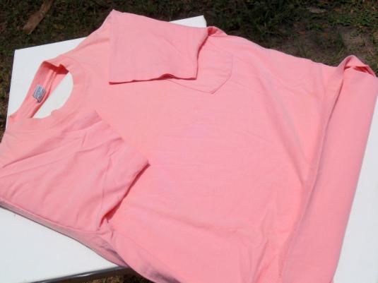 Vintage 1990s Peach Ron Jon Surf Shop Cotton Pocket T-Shirt