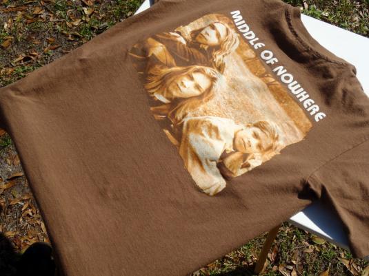 Vintage 1997 Brown Hanson Cotton T Shirt L