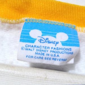Vintage 1980s Mickey Mouse Walt Disney World Sweat Shirt L