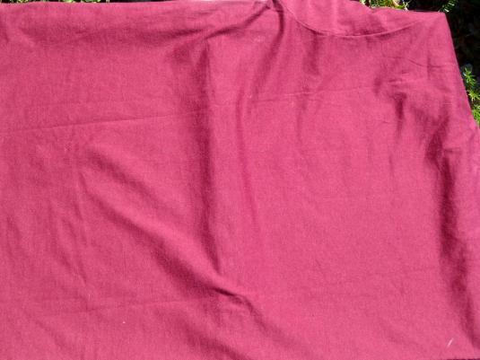 Vintage 1980s Chivas Regal Scotch Burgundy T-Shirt M/L