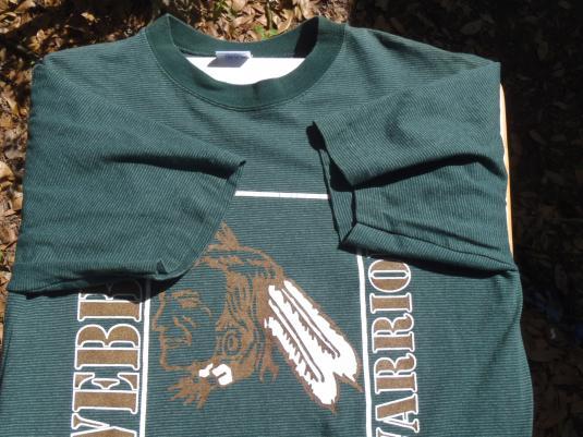 Vintage 1980s Webber Warriors T Shirt L