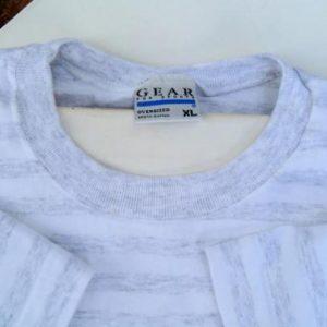 Vintage 1990s White Princeton University Oversized T Shirt