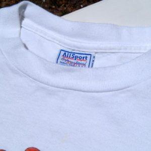 Vintage 1990s Beatles Yellow Submarine White Cotton T-Shirt L