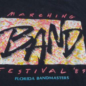 1989 Florida Marching Band Festival Vintage T-Shirt