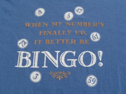Vintage 1990s Bingo T-Shirt