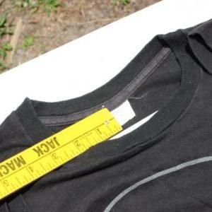 Vintage 1970s UpTown Freddie Kagan Black Band T Shirt M/L