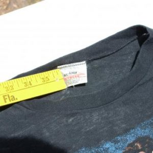 Vintage 1980s Duran Duran New Wave Black T Shirt S/M