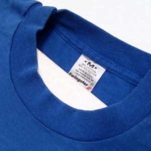 Vintage 1980s Blue Detroit Pistons Legs and Shorts T-Shirt M