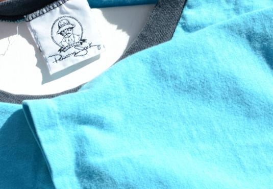 Vintage 1987 Panama Jack Blue Ringer T-Shirt XL