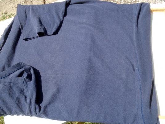 Vintage 1980s Punta Gorda Fire Department Navy Blue T-Shirt