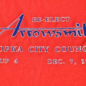 Vintage 1993 Arrowsmith for Apopka City CouncilT-Shirt XL