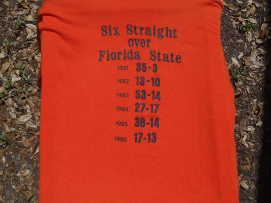Vintage 1986 Florida Gators T-Shirt