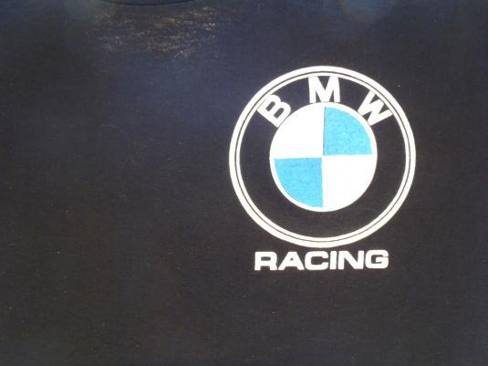 Vintage 1980s Black BMW Racing of Daytona T Shirt S/M