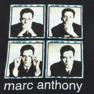 Vintage 1997 Marc Anthony Black T-Shirt XL by Wild Oats