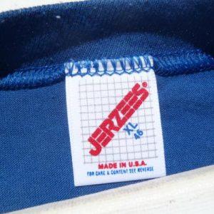 Vintage 1980s Haines City FL Flock Letter T-Shirt XL Jerzees