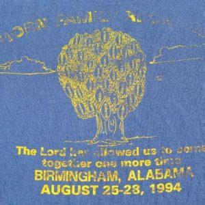 Vintage 1994 Horn Family Reunion Navy Blue T ShirtXL