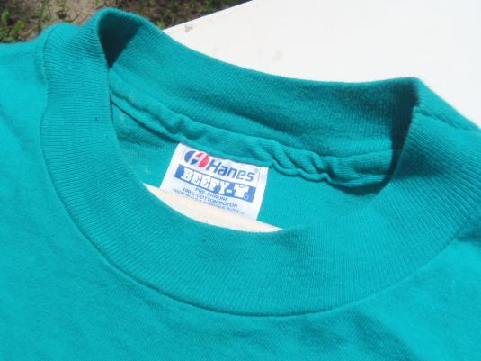 Vintage 1990s Aqua Cheers Boston Cotton T-Shirt M
