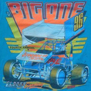 Vintage 1996 Eldora Speedway The Big One Cotton T-Shirt M
