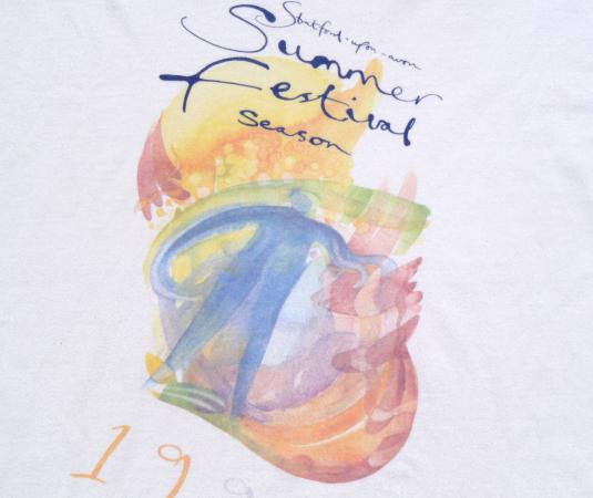 Vintage 1999 Stratford Upon Avon Playfest Cotton T Shirt XL