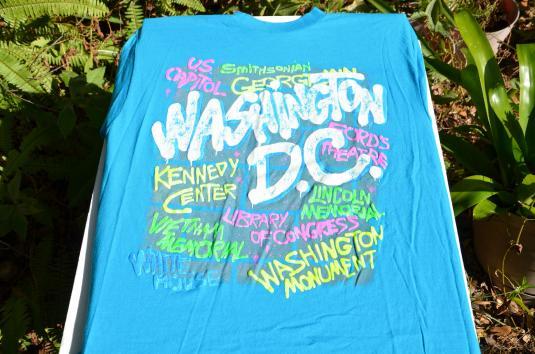 Vintage 1980s Washington DC Souvenir T-Shirt L/XL