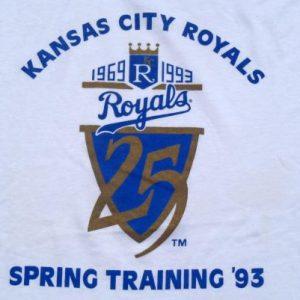Vintage 1990s Kansas City Royals Spring Training T-Shirt XL