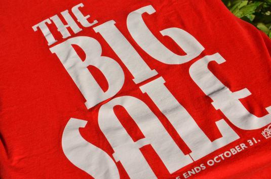 "Vintage 1990s ""The Big Sale"" Christian Bookstore T-Shirt XL"