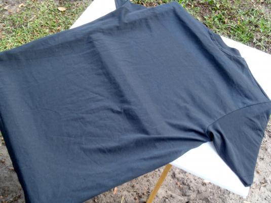Vintage 1992 Deland Florida Rivertown Players Black T Shirt